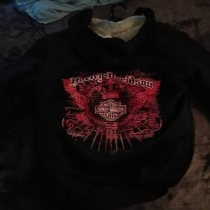 Brand new..Harley Zip up hoodie jacket